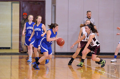 Photo by, Franklin Brown Girls Varsity Basketball George Stevens Academy vs. Deer Isle Stonington January 25, 2014