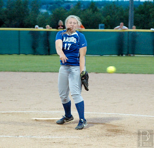 IA Eastern ME Softball Abby fires it in 062614 JS