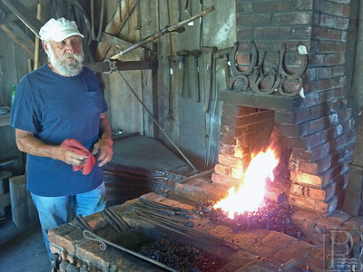 CP Wilson Museum Demo blacksmithing 071714 PC