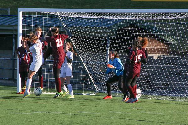 Scramble at the net