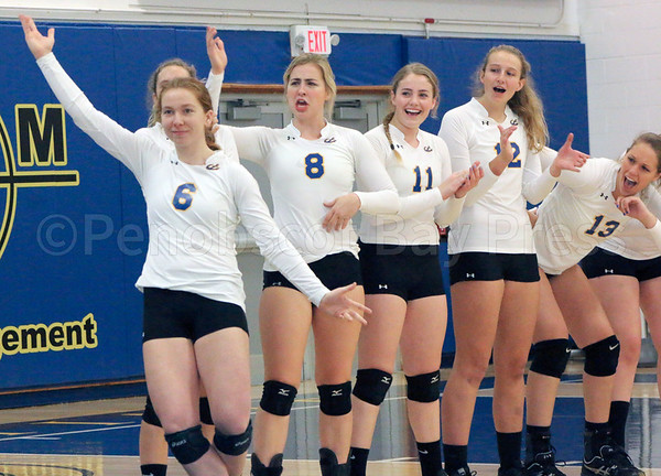 sports; MMA; vball; conference; champs; Oneil; 111016; Maine Maritime Academy; Mariners; sport; team; volleyballl Gillian O